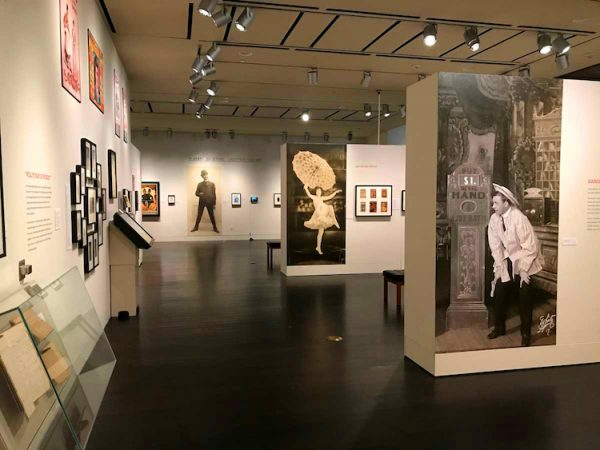 The exhibition Vaudeville! Photos by Pete Smith. Courtesy Harry Ransom Center