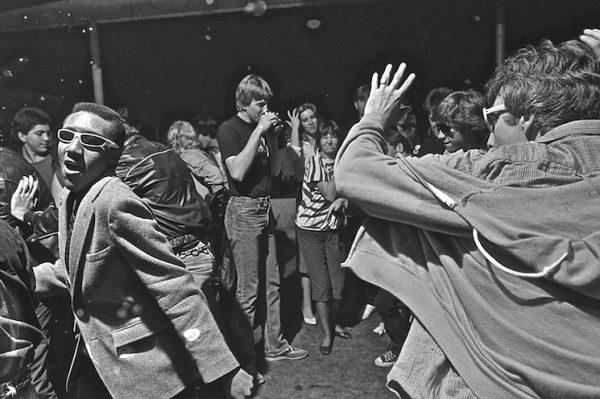 Ben DeSoto, Fans at Houston's The Island, 1982