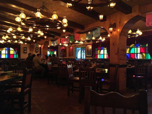 Interior of El Tiempo