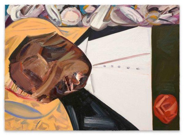 Dana Schutz, Open Casket (2016). Oil on canvas.