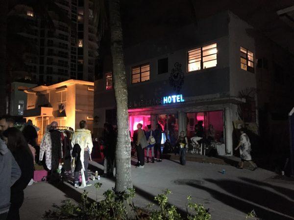 2017 Satellite Art Fair on Miami Beach during Art Basel