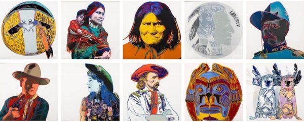Andy-Warhol-Cowboys-and-Indians-screenprints