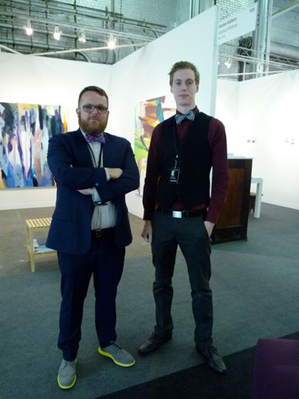 Art dealer and gallery owner Sean Horton