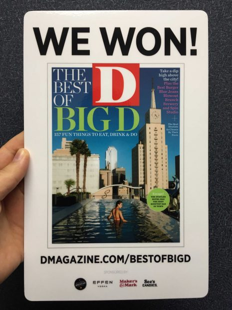 Christina Rees wins D Magazine's Best of Big D's Best Critic Award
