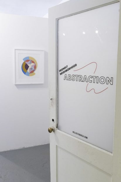 Friendly Neighborhood Abstraction exhibition at Hello Studio