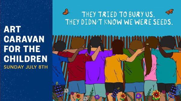 Illustration for art caravan for the children jolt Texas