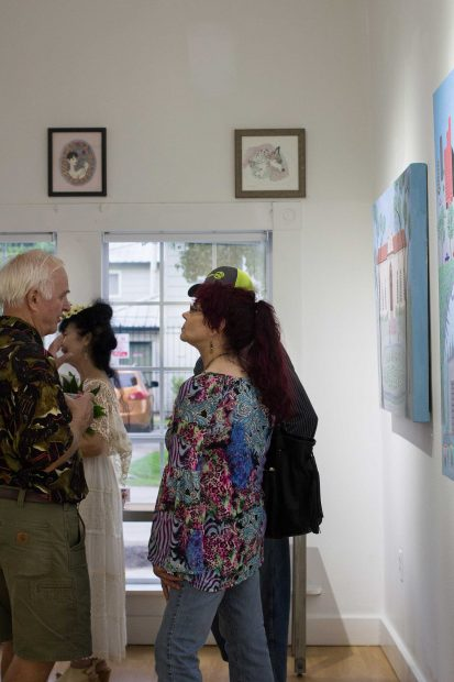 Image-from-the-opening-of-Anne-Reese-Hernandez's-show-at-Gspot-Gallery-in-Houston