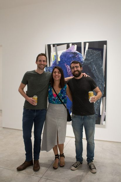Image-from-the-show-Night-Walk-at-Inman-Gallery-in-Houston-featuring-Brian Jeans, Erika Whitney, and Josh Litos