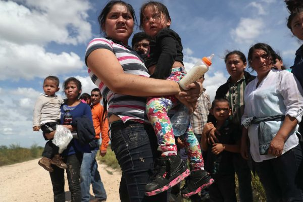 Refugees fleeing Central America, John MooreGetty Images