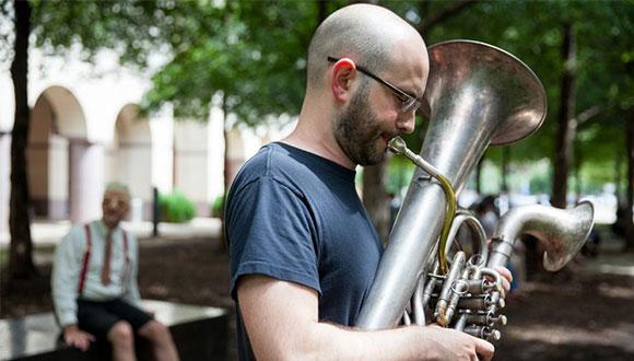 Steve Parker, winner of the second annual Tito's Prize award in Austin