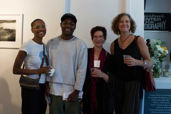 Ty Lewis, Tyrone Matthews, Sandra Klein, Marti Corn at-Houston-Center-for-Photography's-36th-Annual-Juried-Membership-Exhibition