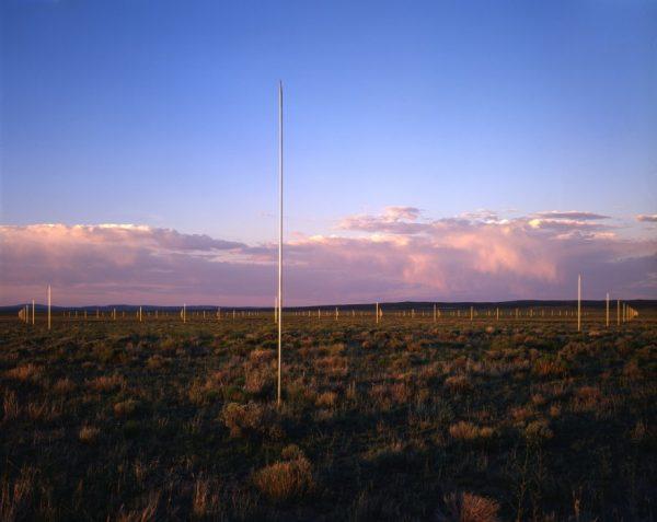 Walter De Maria's Lightning Field