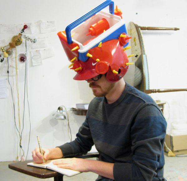 Igloo Cooler, Baseball Helmet, Ketchup Bottles, Corncob Holders, Plastic Bathroom Cups (2010)