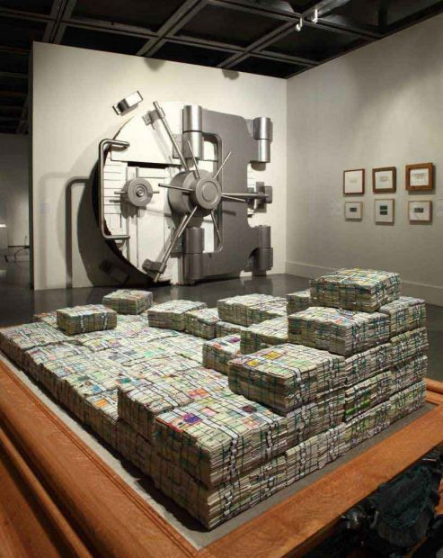 Mel Chin, Operation Paydirt/Fundred Dollar Bill Project, 2006-ongoing