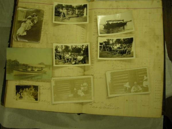 old photographs image for Caring for your Collections at the Stark in Orange Texas
