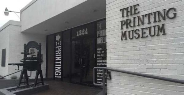 the printing museum in Houston