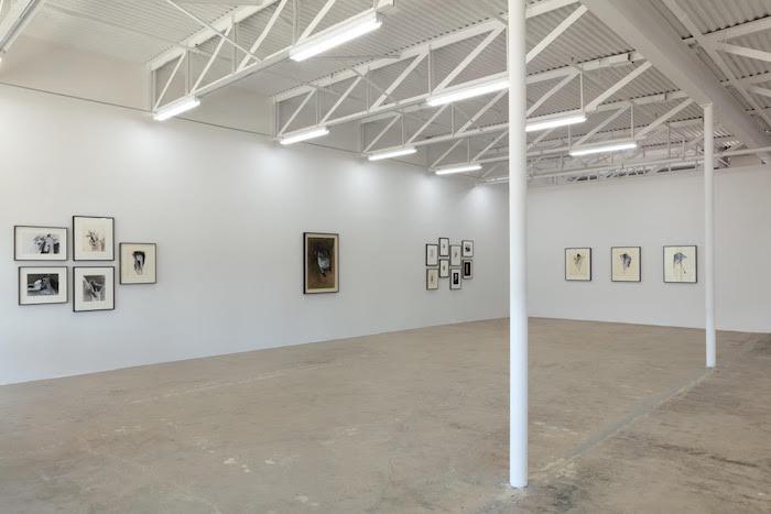 Galerie Frank Elbaz, installation shot of the Jay DeFeo show