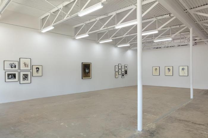 Galerie Frank Elbaz, installation shot of the Jay DeFeo show