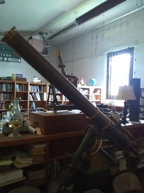 A telescope at the Magdalena Astronomy Society