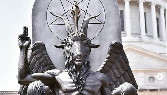 For Religious Freedom Day, Satanic Goat Monster Baphomet ... - photo#7