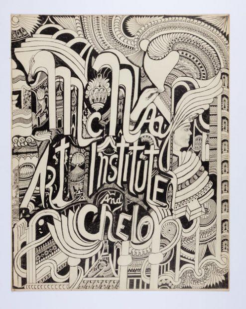"Consuelo ""Chelo"" González Amézcua drawing for McNay"