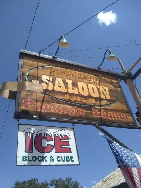 The Golden Spur Saloon in New Mexico