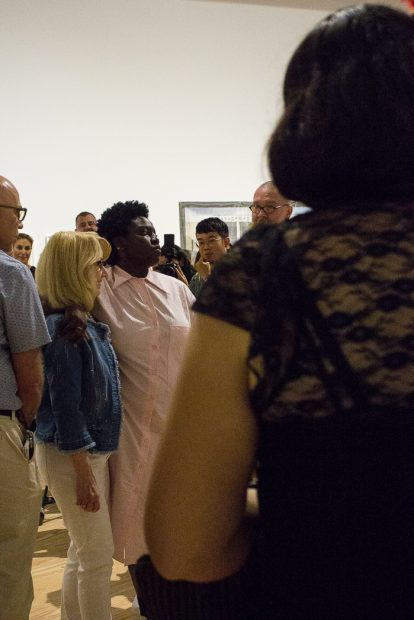 Walls Turned Sideways- Artists Confront the Justice System at the CAMH Autumn Knight Performance 1