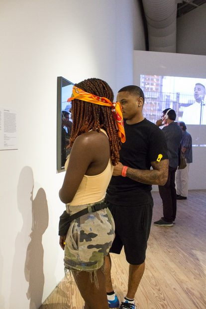 Walls Turned Sideways- Artists Confront the Justice System at the CAMH Steveerae_ Darion V