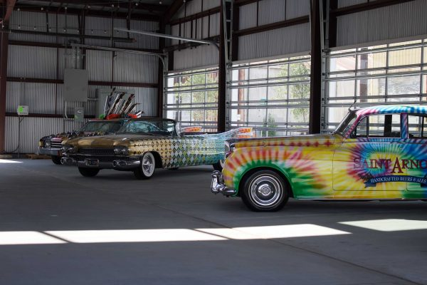 art-cars-outside-Saint-Arnold-Brewery