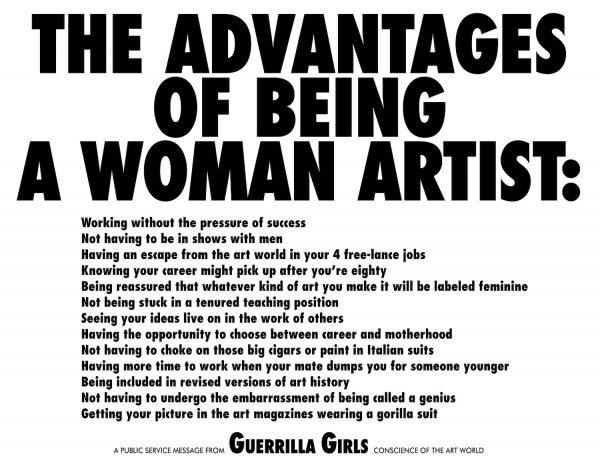 Courtesy guerrillagirls.com