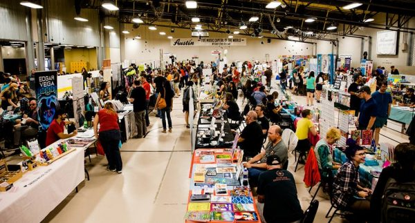 2017 Staple! Media Expo where to get prints, zines, and comics in Austin