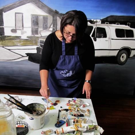 Ana Fernandez at Artpace