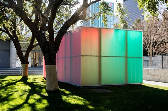 Ann Veronica Janssens Blue Red Yello Nasher Sculpture Center