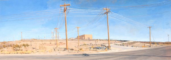 Art by New York and Texas Artist Rackstraw Downes