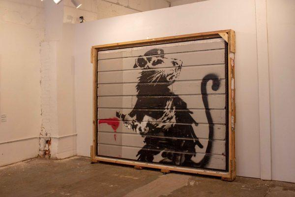 Banksy in Texas at Cultivate 7Twelve