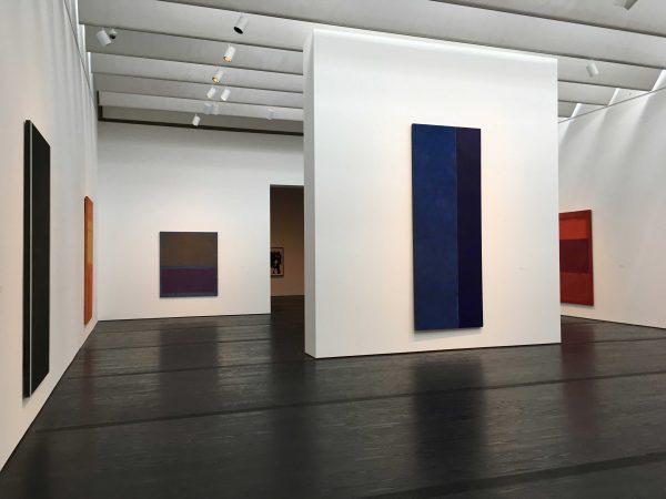 Barnett Newman and Mark Rothko Menil Collection Houston