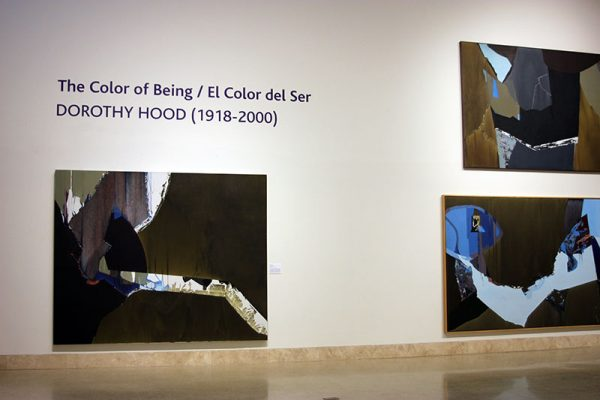 Dorothy Hood at the Art Museum of South Texas in Corpus Christi