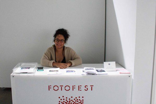 Emily Areta at FotoFest Hurricane Harvey Show