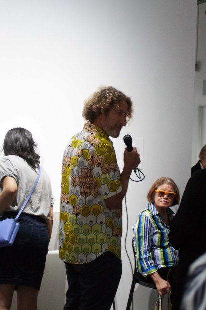 Gideon Mendel at FotoFest Hurricane Harvey Show