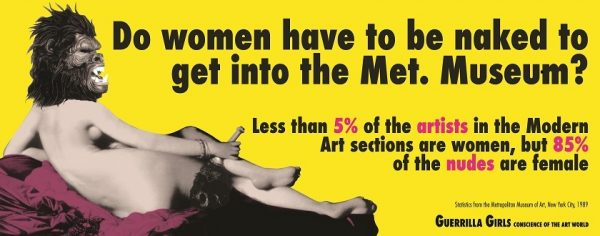 Guerrilla Girls Nasher Sculpture Center
