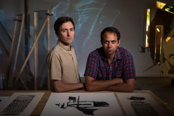 Houston Artists Nick Vaughan and Jake Margolin