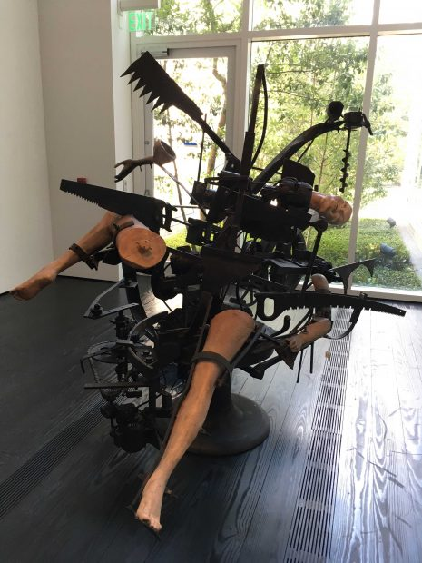 Jean-Tinguely-machine-at-the-Menil-Collection