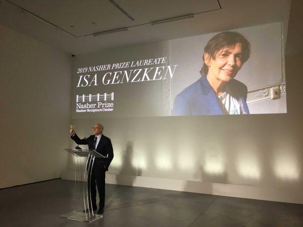Jeremy Stric Isa Genzken Nasher Prize
