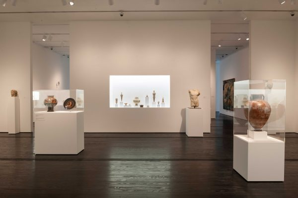 Menil Collection ancient gallery 2018 reinstallation in Houston