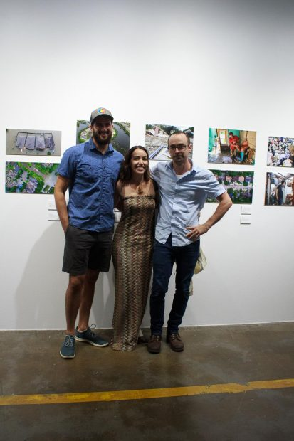 MichaelCiaglo_ElizabethConley_JonShapley at FotoFest Hurricane Harvey Show