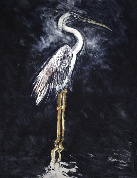 Monotype by Texas artist John Alexander