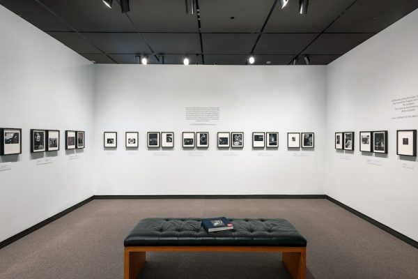 Installation shot of Multitude Solitude: The Photographs of Dave Heath