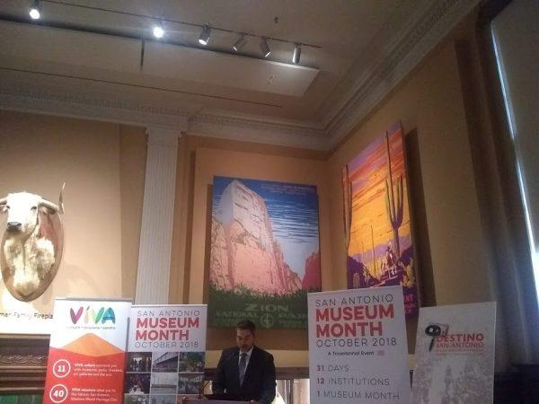 Robert Trevino San Antonio Museum Month October 2018