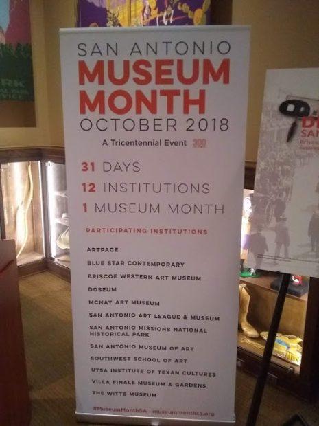 San Antonio Museum Month October 2018