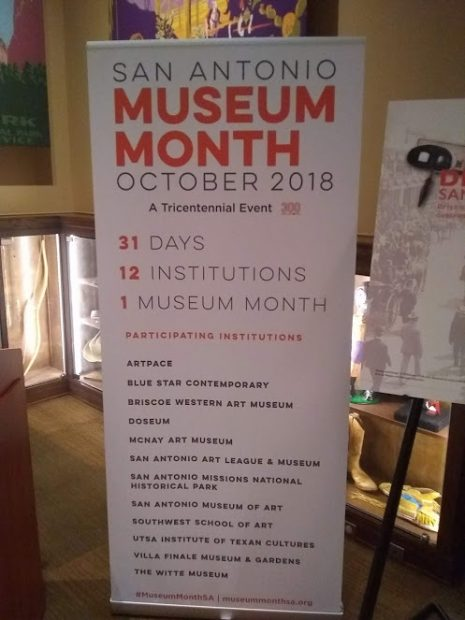San Antonio Museum Month October 2018